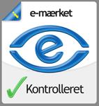 e-mærket godkendt
