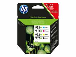ORIGINAL HP 932XL/933XL Combo Pack med 4 blæk