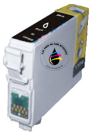 Epson T0791 sort (kompatibel) 18.2ml