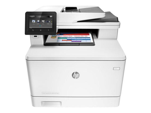 HP Color LaserJet Pro MFP M377dw med wifi og douplex